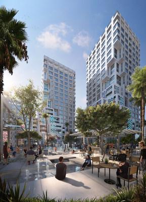 南通三建签约成为里姆岛Makers District的像素项目的主要承包商