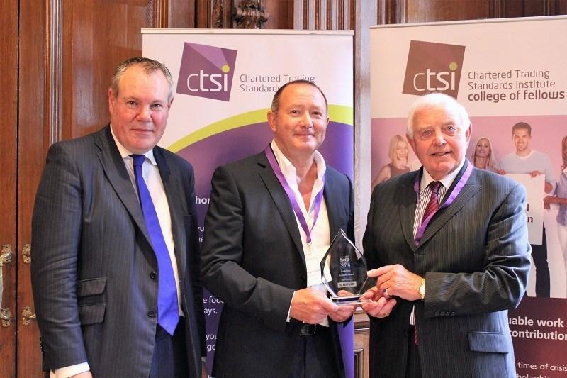 Chris Emmins of KwikChex receives 2019 CTSI Hero Award