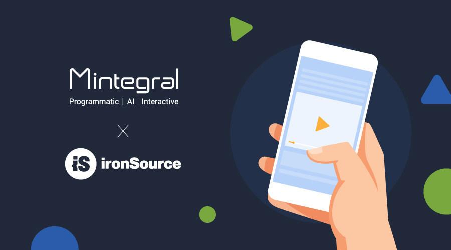 Mintegral's Ad Platform now available on ironSource's mediation platform (PRNewsfoto/Mintegral)