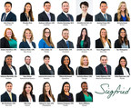 Siegfried Welcomes New Professionals