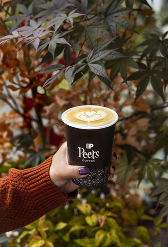 Peet's Coffee 2019 Fall special: the Honey Harvest Latte