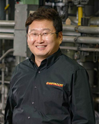 Sangbae Kim (General Manager Metallix Asia Ltd) (PRNewsFoto/Metallix Refining Inc.)