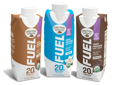 Organic Valley Launches New & Improved FUEL® High-Protein Ultra-Filtered Organic Milk Shake, New First-to-Market Coffee Flavor With Caffeine