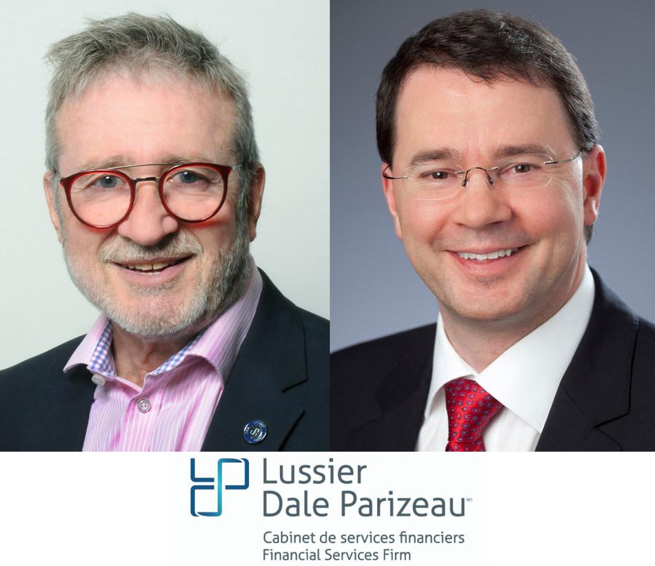 André Lussier, Michel Laurin (CNW Group/Lussier Dale Parizeau Inc.)