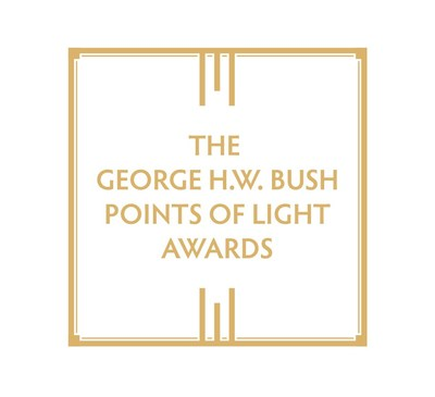 The George H.W. Bush Points of Light Awards (PRNewsfoto/Points of Light)