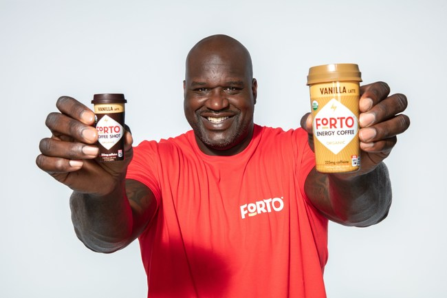 Shaquille O'Neal Enters the Coffee Space with FORTO