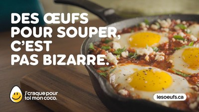 La nouvelle plateforme « Des œufs, n'importe quand » (Groupe CNW/Producteurs d'oeufs du Canada)