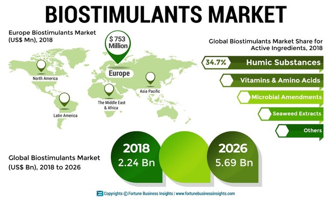 Biostimulants Market Analysis, Insights and Forecast, 2015-2026