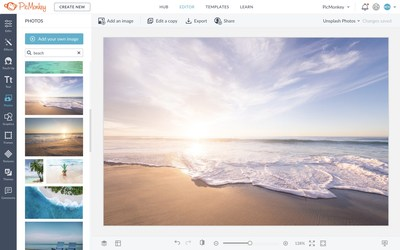 PicMonkey Integrates with Unsplash to Offer Customers Free High-Quality Stock Photos from the World's Most Talented Photographers