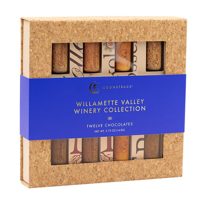 The Willamette Valley Winery Collection from Moonstruck Chocolate