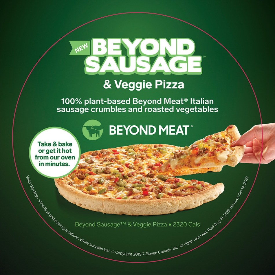 7-Eleven Canada Beyond Meat Pizza (CNW Group/7-Eleven Canada)
