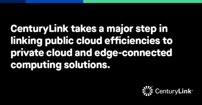 CenturyLink is announcing five major enhancements to CenturyLink® Private Cloud on VMware Cloud Foundation (VCF) at VMworld 2019 in San Francisco