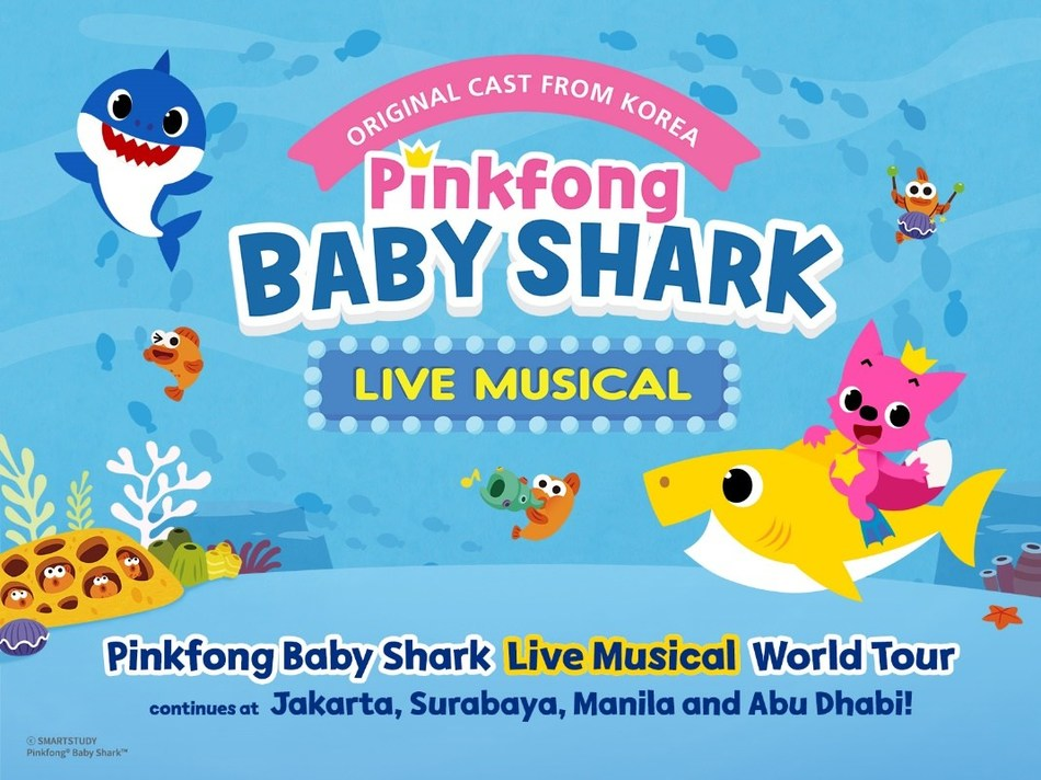 The 'Pinkfong Baby Shark Live Musical' World Tour Continues in Asia and the Middle East