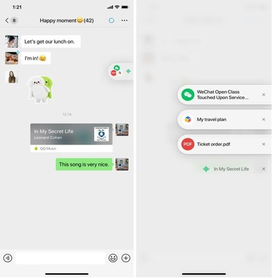 WeChat's Floating Window feature