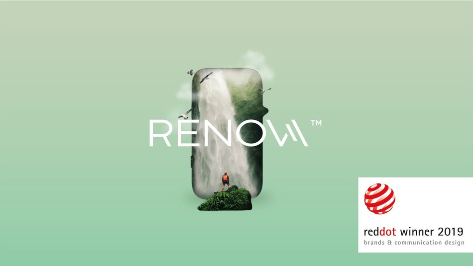 RENOVA by VAPORESSO wins Red Dot Brands and Communication award