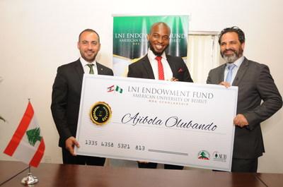 LNI: Lebanese Community Endows $1 5m MBA Scholarship for