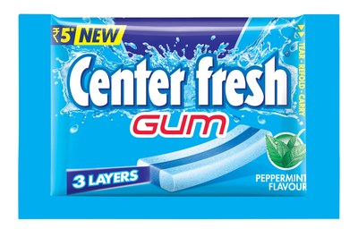 Perfetti Van Melle India expands Center fresh brand portfolio with launch of Center fresh 3-layer Gum