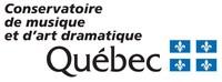 Logo du Conservatoire de musique et d'art dramatique du Québec (Groupe CNW/Conservatoire de musique et d'art dramatique du Québec)