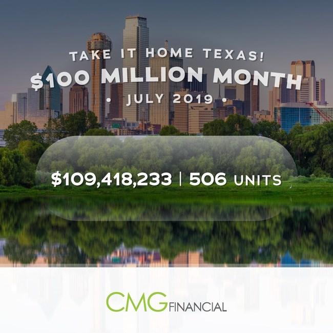 CMG Financial is located in Austin, Boerne, Conroe, Cypress, Dallas, Dayton, El Paso, Frisco, Houston-Memorial, Killeen, and San Antonio