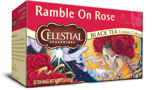 Ramble on Rose limited-edition tea from Celestial Seasonings and HeadCount