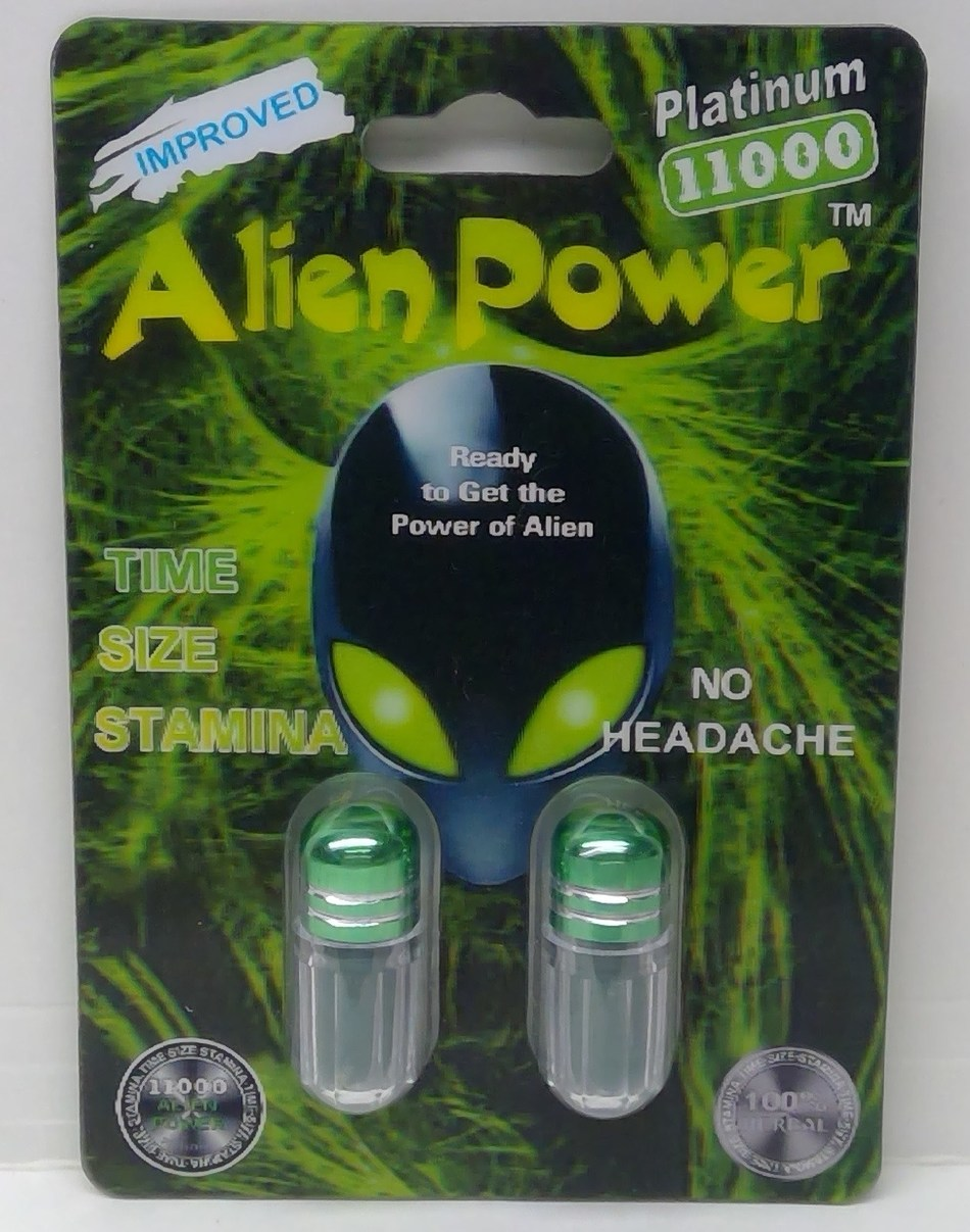 Alien Power Platinum 11000 (CNW Group/Health Canada)