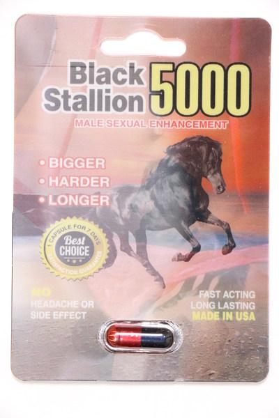 Black Stallion 5000 (Groupe CNW/Santé Canada)