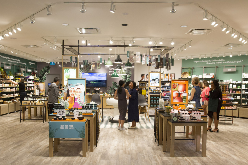 The Body Shop® Opens Newly Renovated, Heritage-Inspired Toronto Eaton Centre Flagship (CNW Group/The Body Shop)