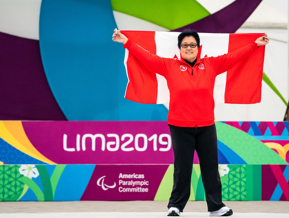 Stephanie Chan will be Canada's Opening Ceremony flag bearer at the Lima 2019 Parapan Am Games. PHOTO: Canadian Paralympic Committee (CNW Group/Canadian Paralympic Committee (Sponsorships))
