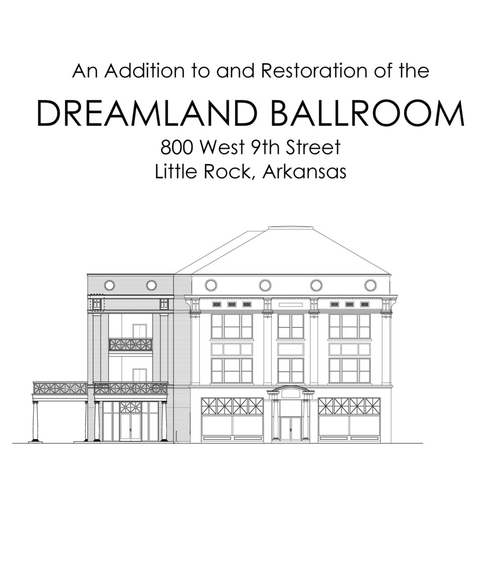 Rendering of elevator extension up to the Dreamland Ballroom