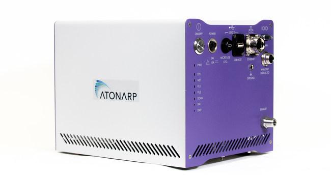 AMS: Atonarp's Smart Mass Spectrometer. The only quantitative & miniaturized process mass spectrometer on the market.