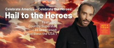 """""""Hail to the Heroes"""" featuring Lee Greenwood"""