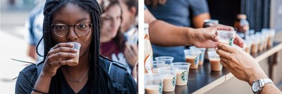 Starbuck's experiential campus programs create engagement during the real life moments of college students.