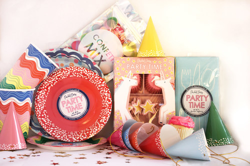 A selection of the Packed Party collection exclusively designed for Whole Foods Market.