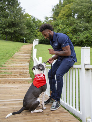 Mars Petcare enlisted Tennessee Titans cornerback Logan Ryan to promote this year's BETTER CITIES FOR PETS™ program Adoption Weekend.
