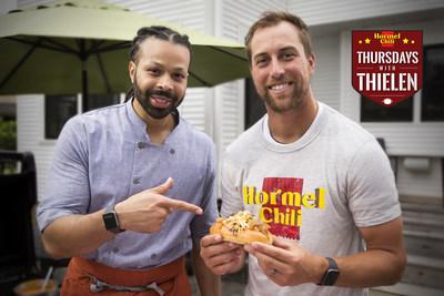 Chef Kenneth Temple and Adam Thielen - Hormel® Chili Thursdays with Thielen