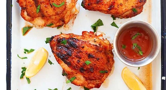 Amauri Paraskakis Grilled Chicken Thighs (CNW Group/Ted Paraskakis and Amauri Paraskakis)