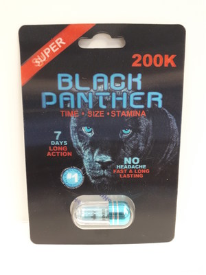 Black Panther 200K (Groupe CNW/Santé Canada)