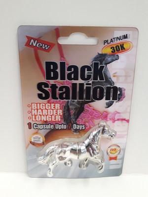 Black Stallion Platinum 30K (Groupe CNW/Santé Canada)