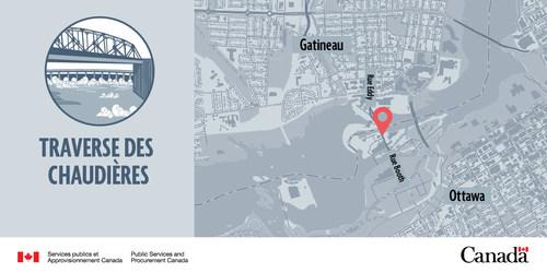 Traverse des chaudières (Groupe CNW/Services publics et Approvisionnement Canada)