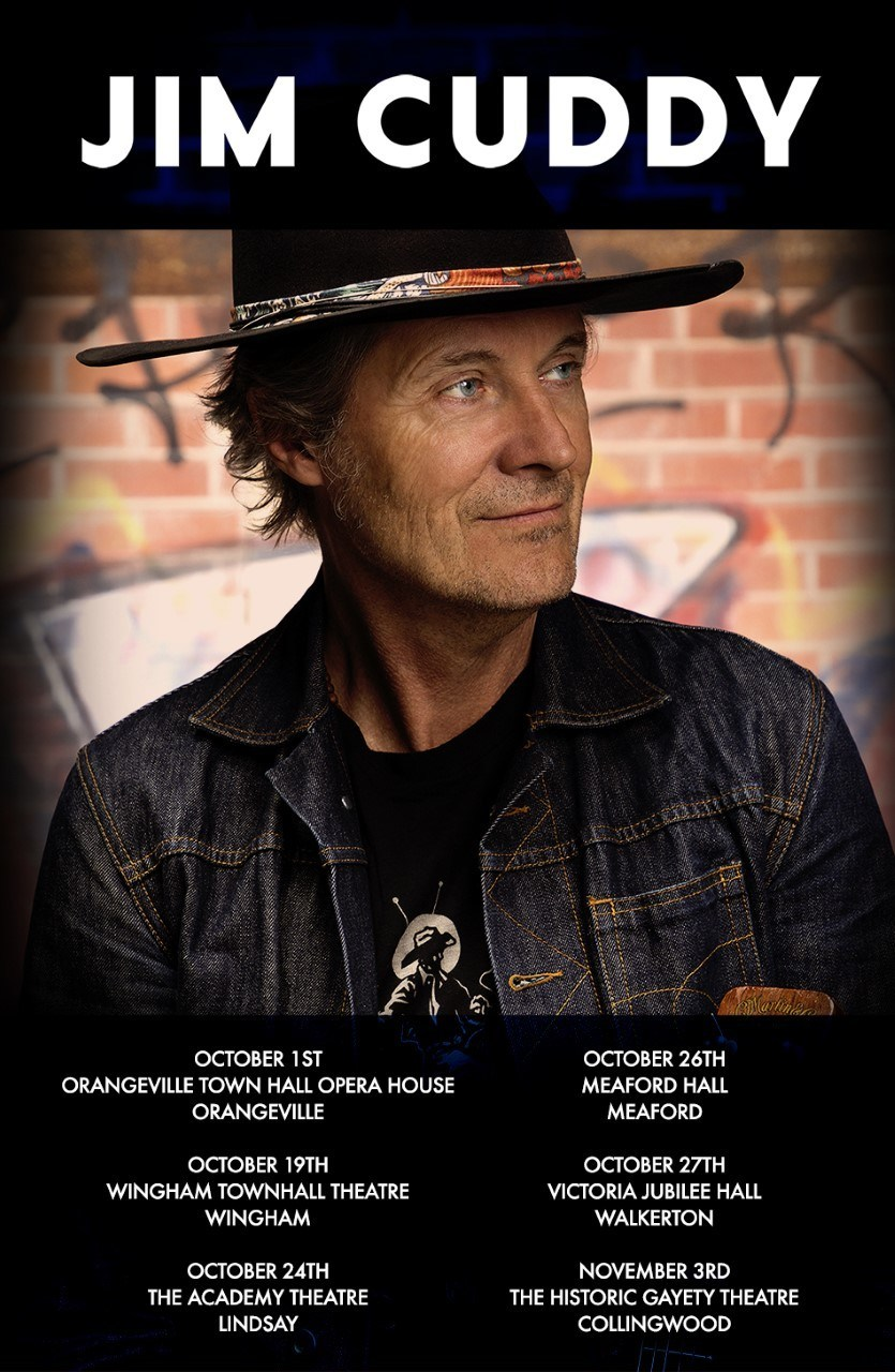 To celebrate the release of his fifth solo album, Countrywide Soul, Jim Cuddy – along with fiddler Anne Lindsay and guitarist Colin Cripps – will be performing for audiences across Ontario this fall. (CNW Group/UP Next PR)