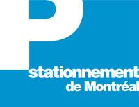 Logo : Stationnement de Montréal (Groupe CNW/Société en commandite stationnement de Montréal)