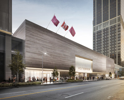 Holt Renfrew 50 Bloor St West Toronto (CNW Group/Holt, Renfrew & Co., Limited)