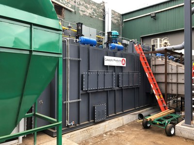 General Iron Industries' new $2 million regenerative thermal oxidizer (RTO) will fully comply with, and outperform, a requirement to reduce VOC emissions from its metal shredder in Chicago.