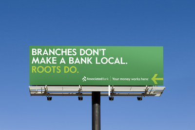 """Associated Bank announced a new marketing campaign, """"Your Money Works Here.™"""" The campaign highlights the importance of consumers banking and investing money locally, in the Midwest, to benefit things they care about—like their neighbors and businesses."""