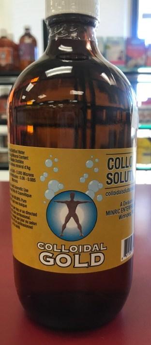 « Colloidal Gold » de Colloidal Solutions (Groupe CNW/Santé Canada)