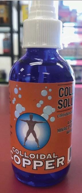 « Colloidal Copper » de Colloidal Solutions (Groupe CNW/Santé Canada)