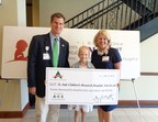 ACE Cash Express Raises $20,561 for the St. Jude Affiliate Clinic at Novant Health Hemby Children's Hospital