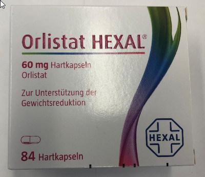 Orlistat Hexal (capsules amaigrissantes) (Groupe CNW/Santé Canada)