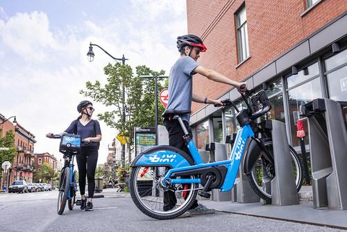 Lancement de BIXI électrique (Groupe CNW/BIXI Montréal)
