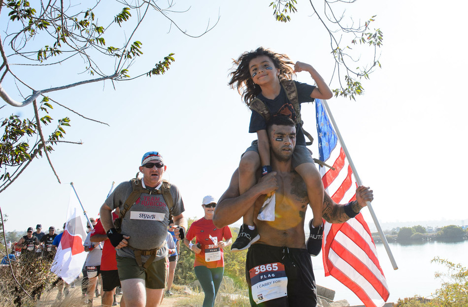 Through a cloudless sky, the sun shone on supporters of wounded veterans and their families in San Diego's NTC Park during the Wounded Warrior Project® (WWP) Carry Forward® 5K, delivered by CSX®.